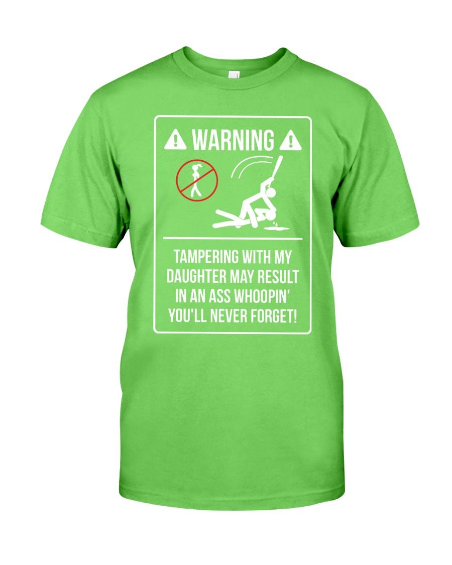WARNING Classic T-Shirt