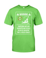 WARNING Classic T-Shirt front