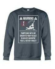 WARNING Crewneck Sweatshirt front