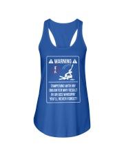 WARNING Ladies Flowy Tank front