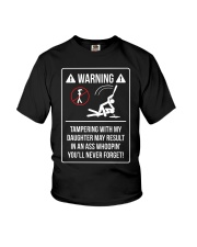 WARNING Youth T-Shirt tile