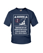 WARNING Youth T-Shirt front