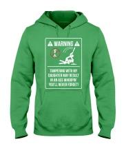 WARNING Hooded Sweatshirt front
