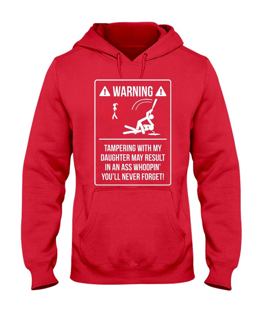 WARNING Hooded Sweatshirt