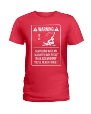 WARNING Ladies T-Shirt front