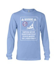 WARNING Long Sleeve Tee front