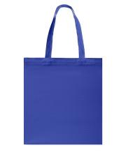 WARNING Tote Bag back