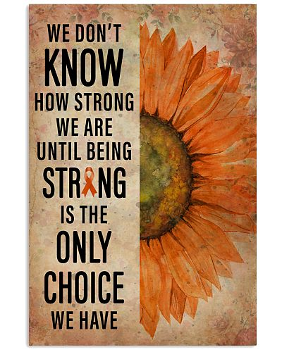Leukemia We Don't Know How Strong We Are