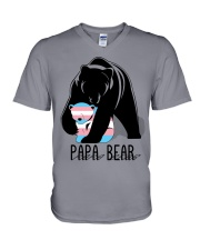 Papa Bear  V-Neck T-Shirt thumbnail