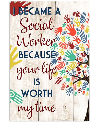 Social Worker Your Life Is Worth My Life