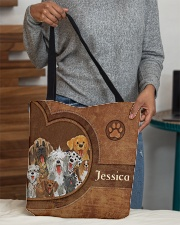 Dog Print All-over Tote aos-all-over-tote-lifestyle-front-10