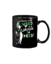 A friend with weed is a friend in deep Mug thumbnail