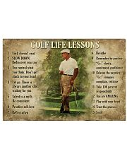 Golf Life Lessons 36x24 Poster front