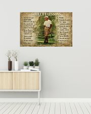 Golf Life Lessons 36x24 Poster poster-landscape-36x24-lifestyle-01