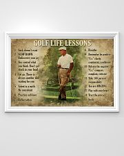 Golf Life Lessons 36x24 Poster poster-landscape-36x24-lifestyle-02