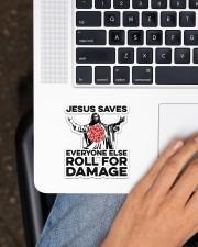 Game jesus Saves Sticker - Single (Vertical) aos-sticker-single-vertical-lifestyle-front-11