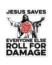 Game jesus Saves Sticker - Single (Vertical) front