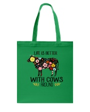 Farm Cow Life Is Better - Hoodie And T-shirt Tote Bag thumbnail