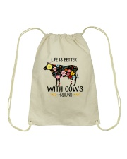 Farm Cow Life Is Better - Hoodie And T-shirt Drawstring Bag thumbnail
