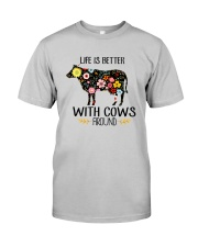 Farm Cow Life Is Better - Hoodie And T-shirt Classic T-Shirt thumbnail