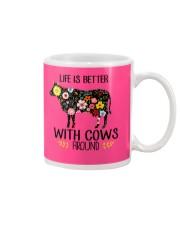 Farm Cow Life Is Better - Hoodie And T-shirt Mug thumbnail