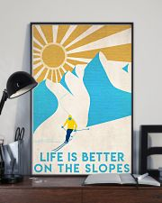 Skiing Life Is Better  16x24 Poster lifestyle-poster-2