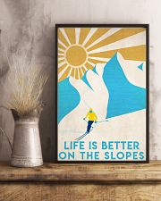 Skiing Life Is Better  16x24 Poster lifestyle-poster-3
