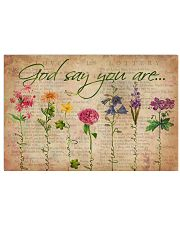 Yoga God Say You Are 36x24 Poster front