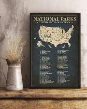 Hiking National Parks 16x24 Poster lifestyle-poster-3