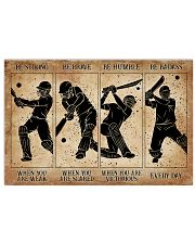 Cricket Be Strong When You Are Weak 24x16 Poster front