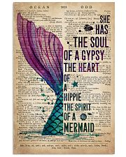Mermaid The Soul Of The Gypsy 16x24 Poster front