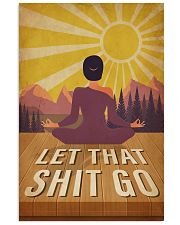 Yoga Let That 16x24 Poster front