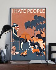 Dog I Hate People 16x24 Poster lifestyle-poster-2