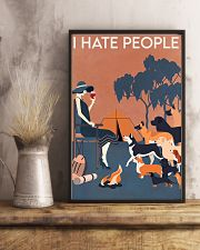 Dog I Hate People 16x24 Poster lifestyle-poster-3