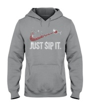 Just sip it Hooded Sweatshirt tile