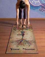 Yoga Tree Yoga Mat 24x70 (vertical) aos-yoga-mat-lifestyle-25