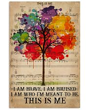 LGBT I Am Brave 16x24 Poster front
