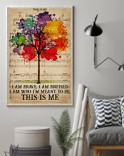 LGBT I Am Brave 16x24 Poster lifestyle-poster-1