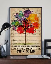 LGBT I Am Brave 16x24 Poster lifestyle-poster-2