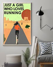 Running Just A Girl 16x24 Poster lifestyle-poster-1