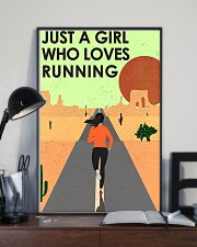 Running Just A Girl 16x24 Poster lifestyle-poster-2