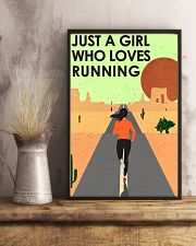 Running Just A Girl 16x24 Poster lifestyle-poster-3