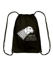 House dachshund Drawstring Bag thumbnail