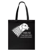 House dachshund Tote Bag thumbnail