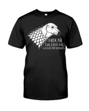 House dachshund Classic T-Shirt front
