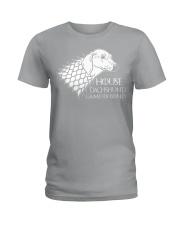 House dachshund Ladies T-Shirt thumbnail