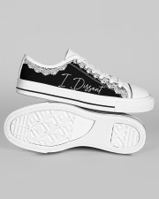 Feminist I Dissent Women's Low Top White Shoes aos-women-low-top-shoes-ghosted-white-outside-right-01