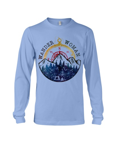 Camping Wander Woman - Hoodie And T-shirt