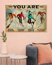 Skiing You Are Brave 36x24 Poster poster-landscape-36x24-lifestyle-18