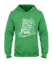 My Home Is The Open Sea where Star Shine Brighter  Hooded Sweatshirt thumbnail